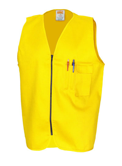 3403 Patron Saint Flame Retardant Drill ARC Rated Safety Vest