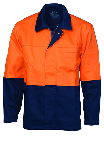 3431 Patron Saint Flame Retardant Two Tone Drill Welders Jacket