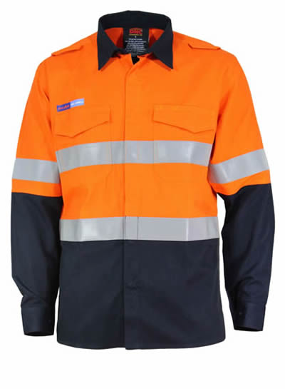 3445 Inherent FR PPE1 2T L/W DN Shirt