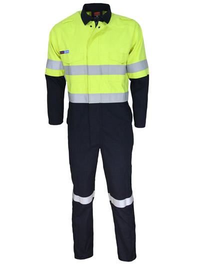 Inherent FR PPE2 2 Tone D/N Coveralls