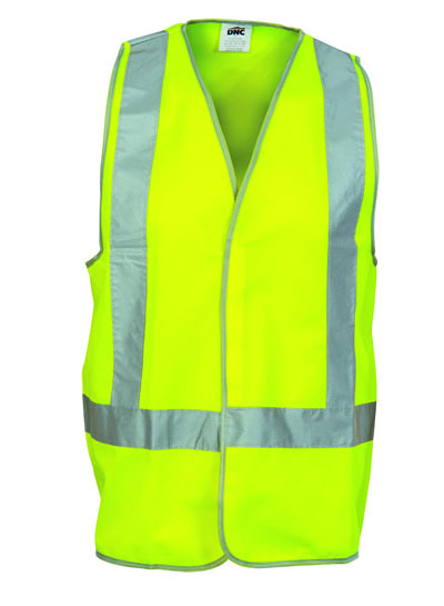 3804 Day/Night Safety Vests with H-Pattern