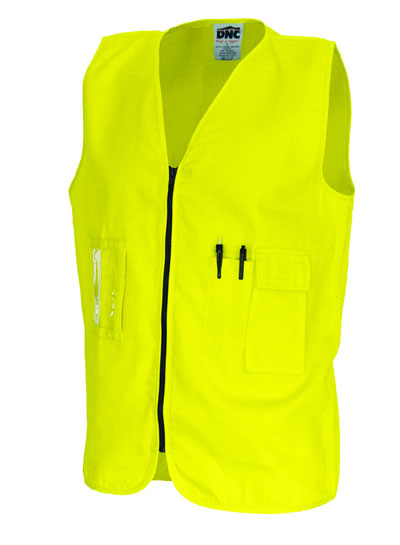 3808 Daytime Cotton Safety Vests