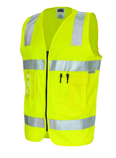3809 Day/Night Cotton Safety Vests