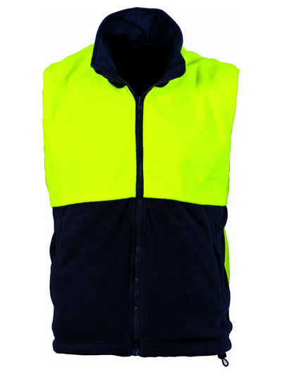 3826 Hi Vis Two Tone Reversible Vest