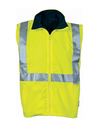 3865 Hi Vis Reversible Vest with 3M R/Tape